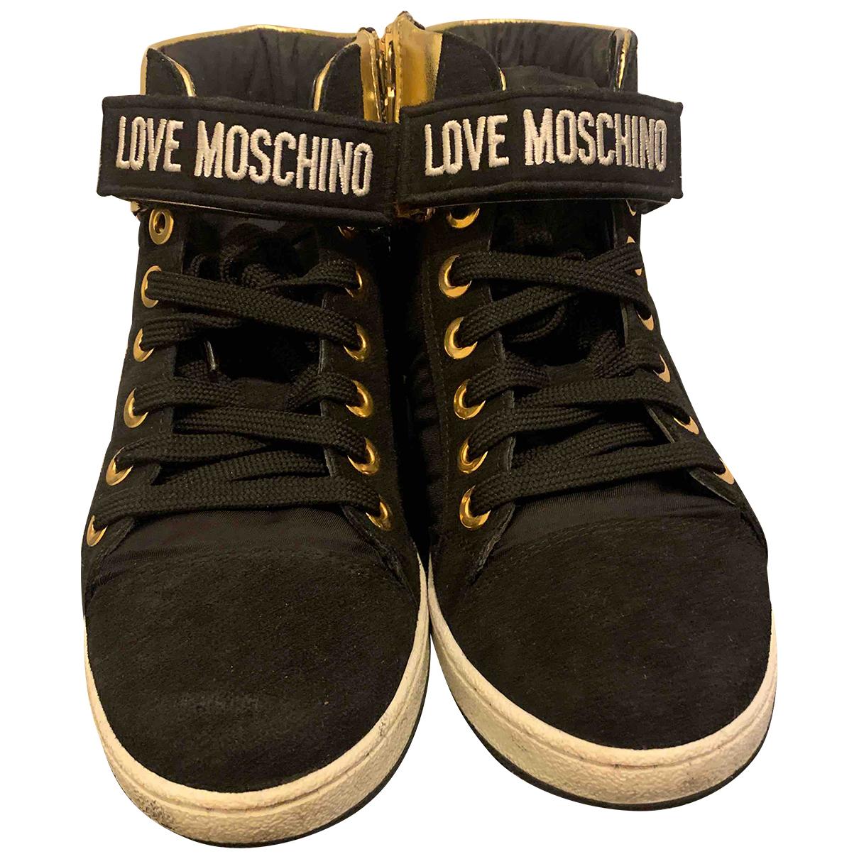 Deportivas de Lona Moschino Love