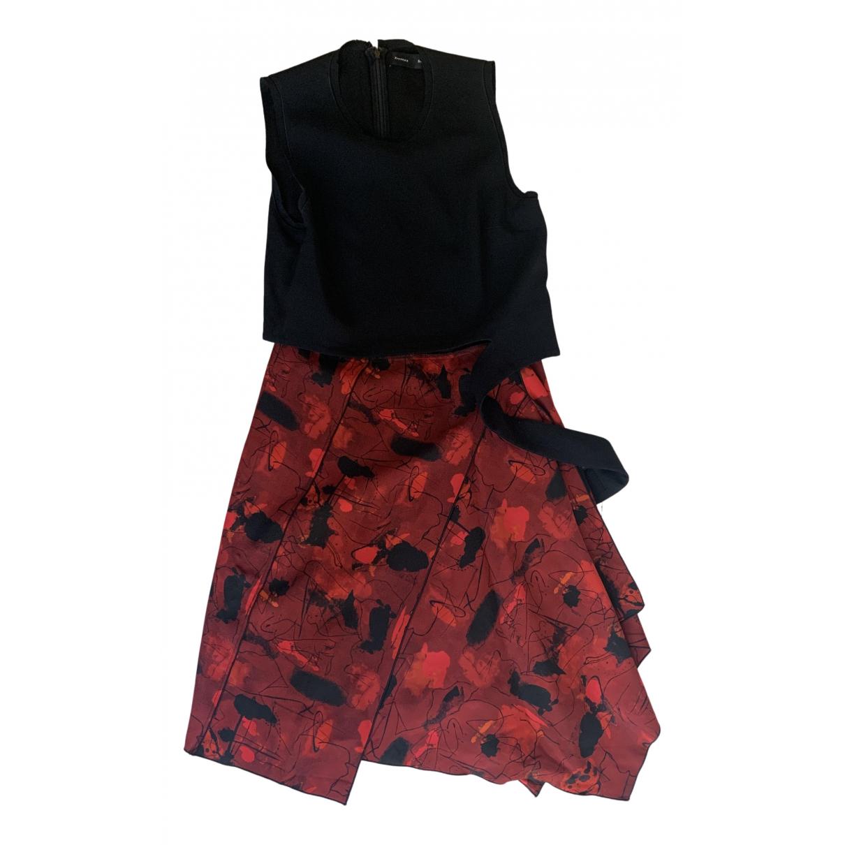 Proenza Schouler \N Kleid in  Rot Seide