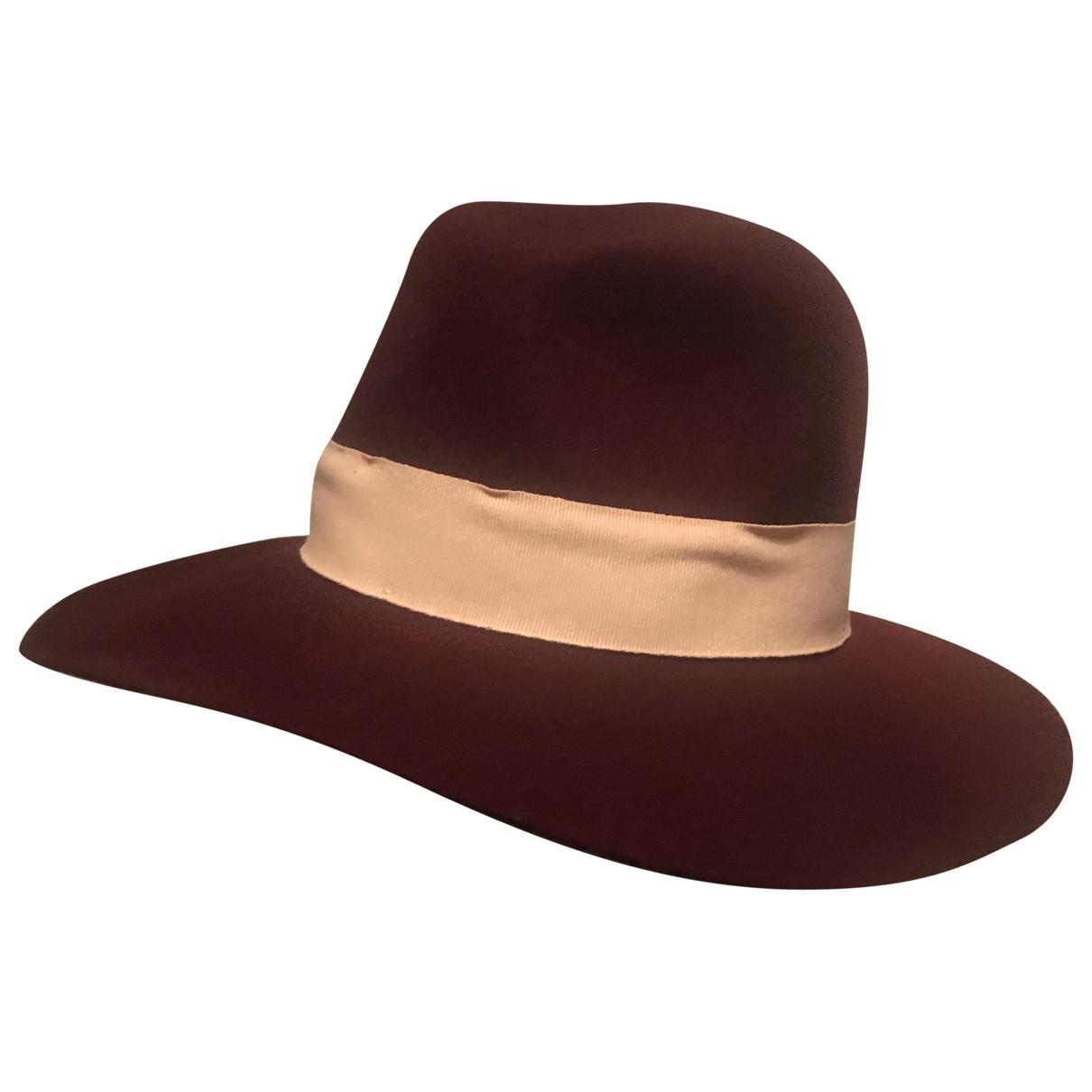 Supertrash \N Burgundy Wool hat for Women L International