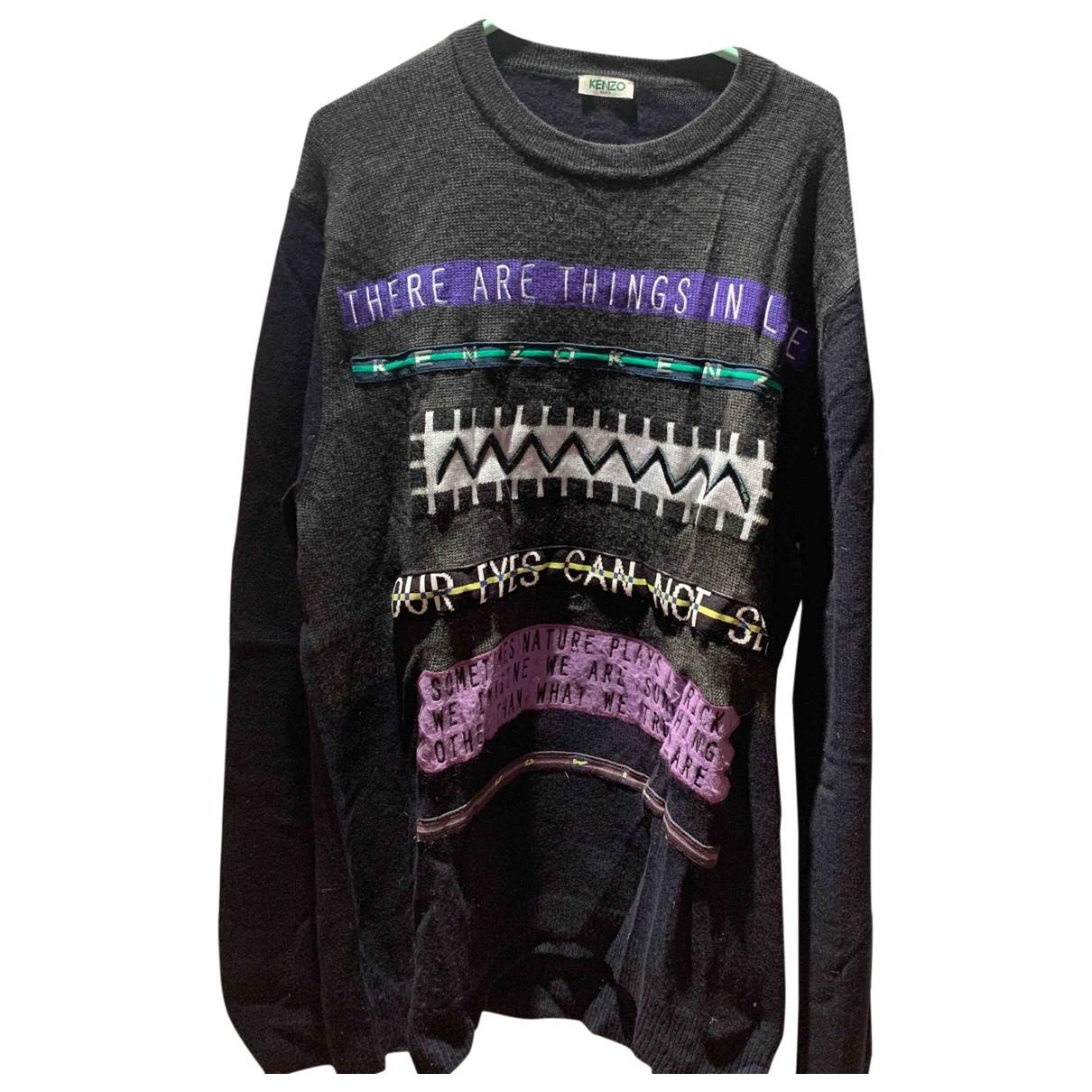 Kenzo \N Pullover.Westen.Sweatshirts  in  Schwarz Wolle