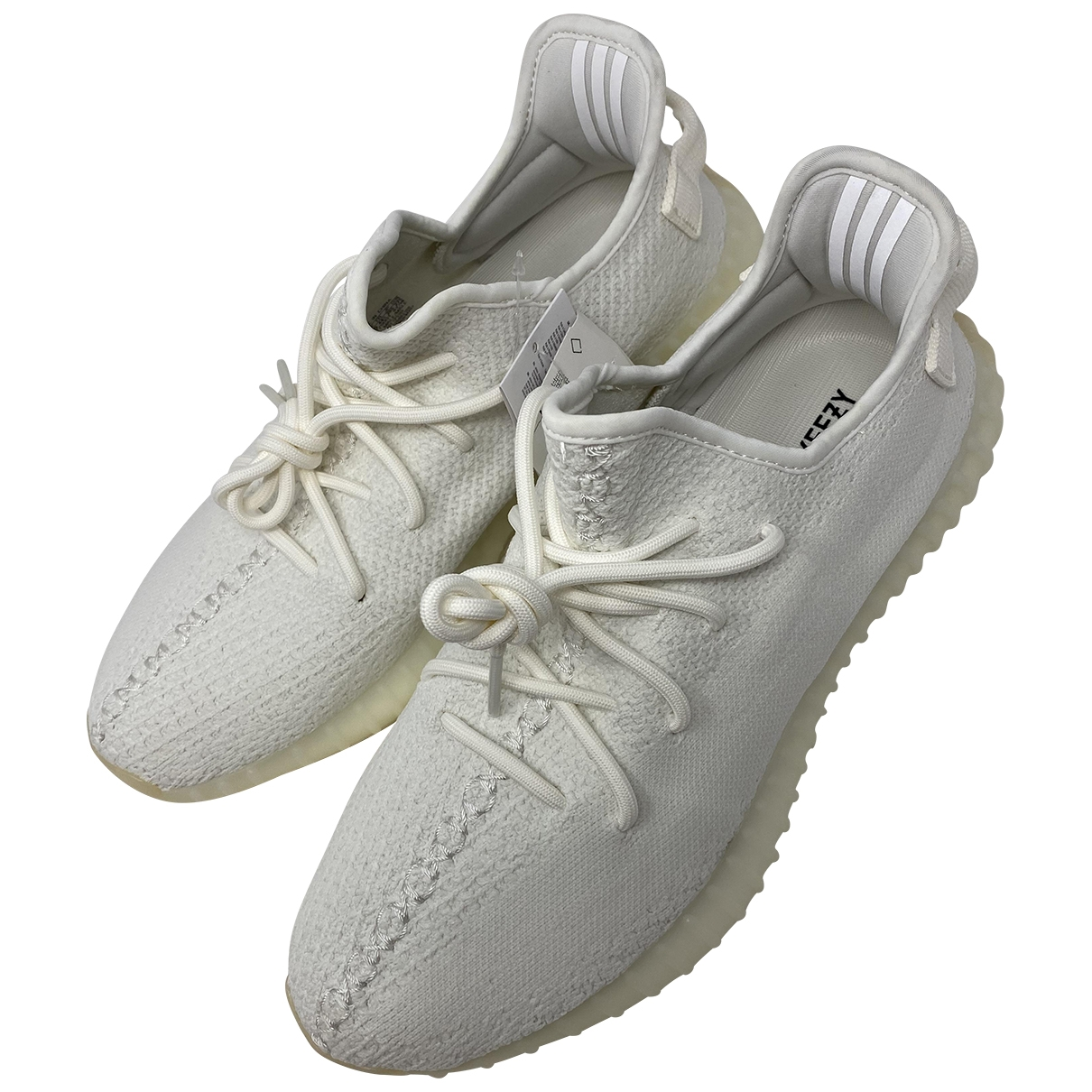 Yeezy X Adidas Boost 350 V2 Sneakers in  Weiss Leinen