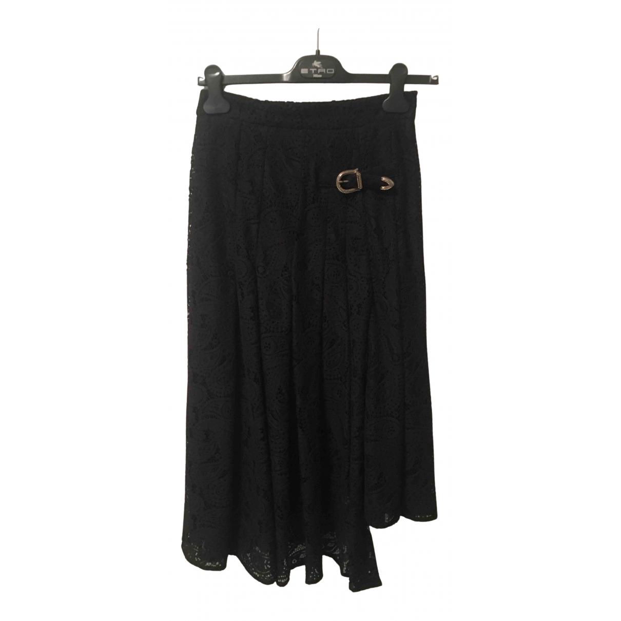 Maje Spring Summer 2019 Black skirt for Women 38 FR