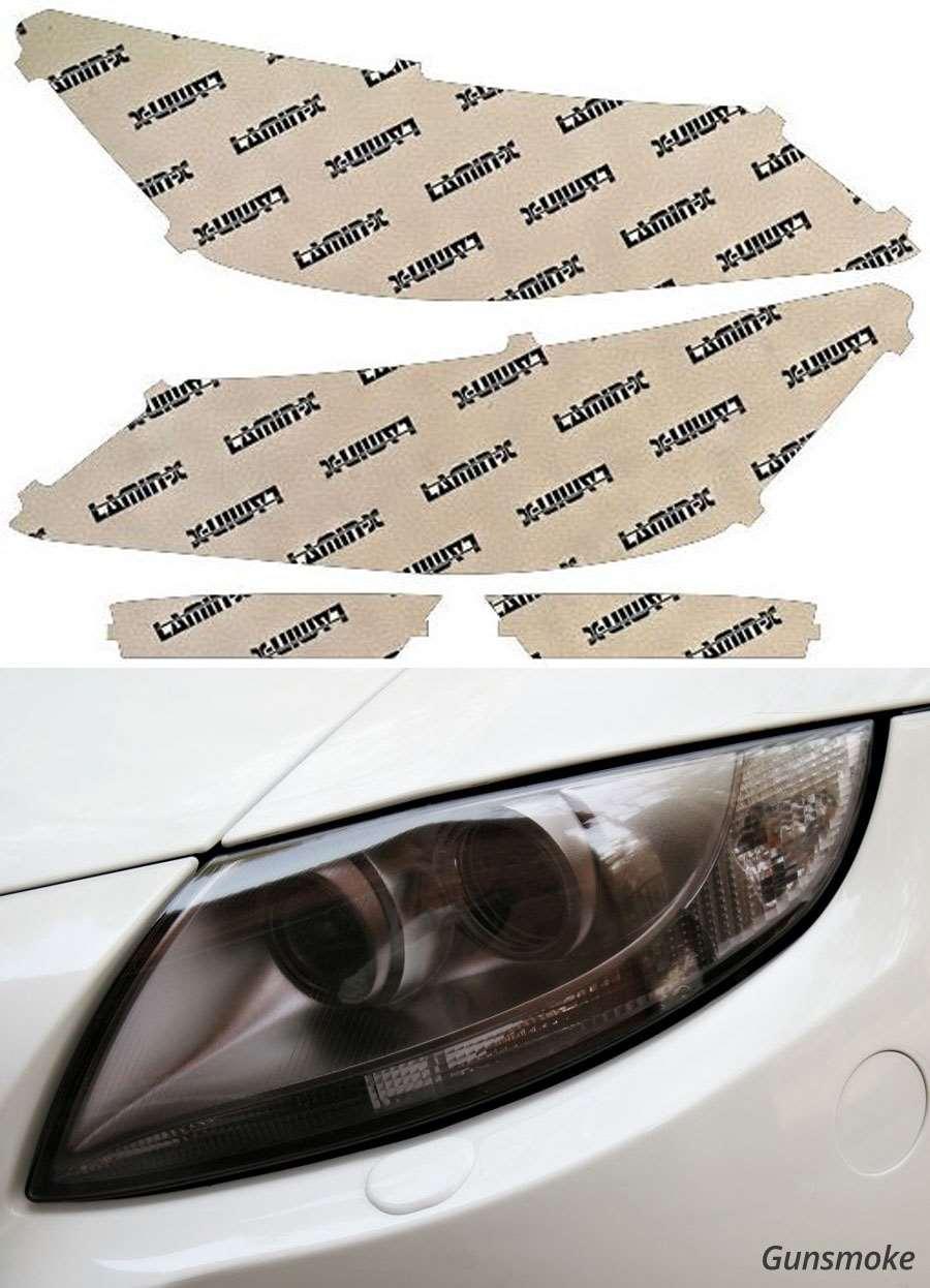 Honda Accord Sedan 13-15 Gunsmoke Headlight Covers Lamin-X H043G