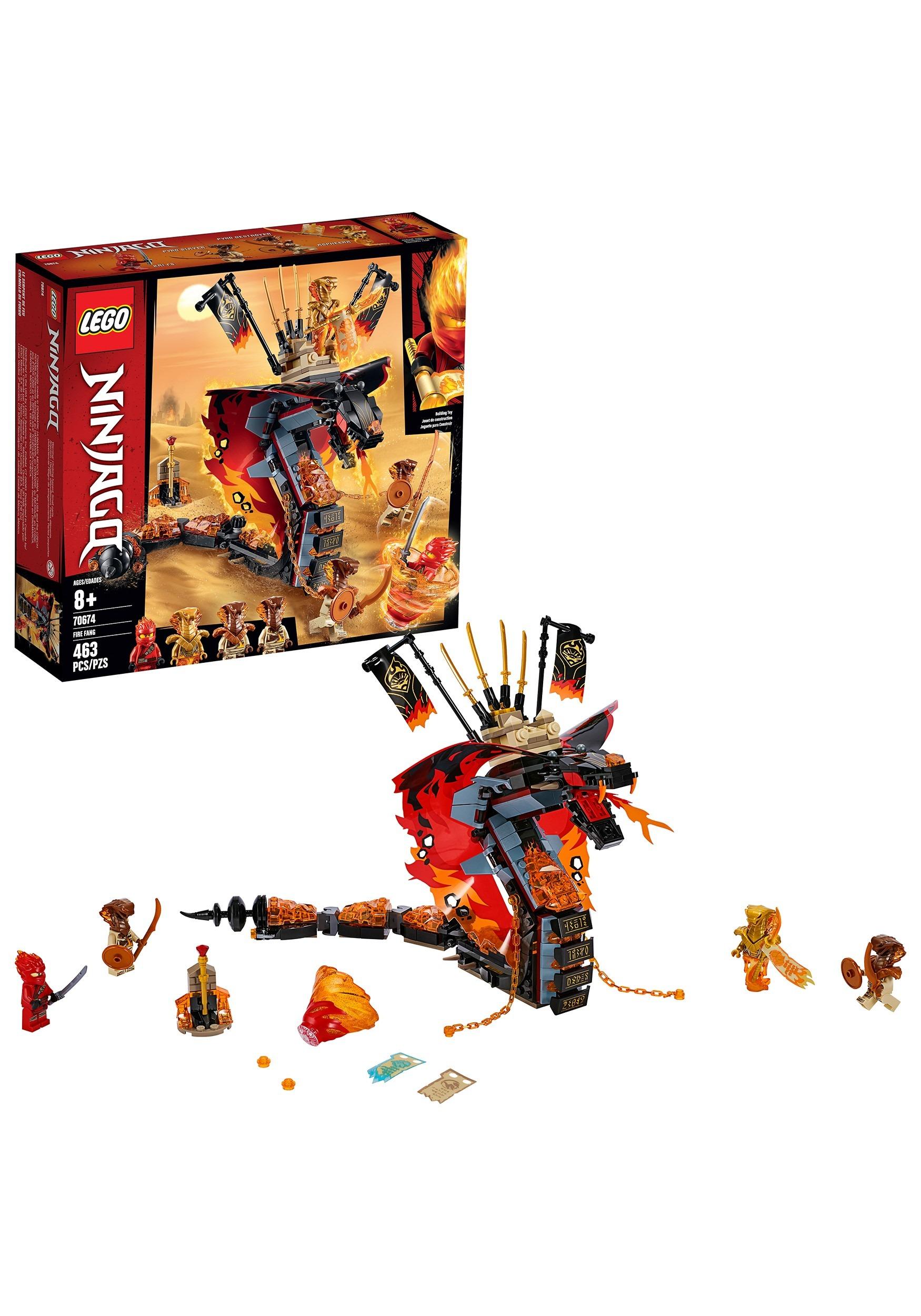 Ninjago LEGO Fire Fang