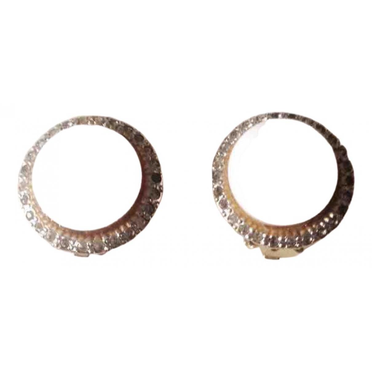 Valentino Garavani - Boucles d'oreilles   pour femme en metal - dore