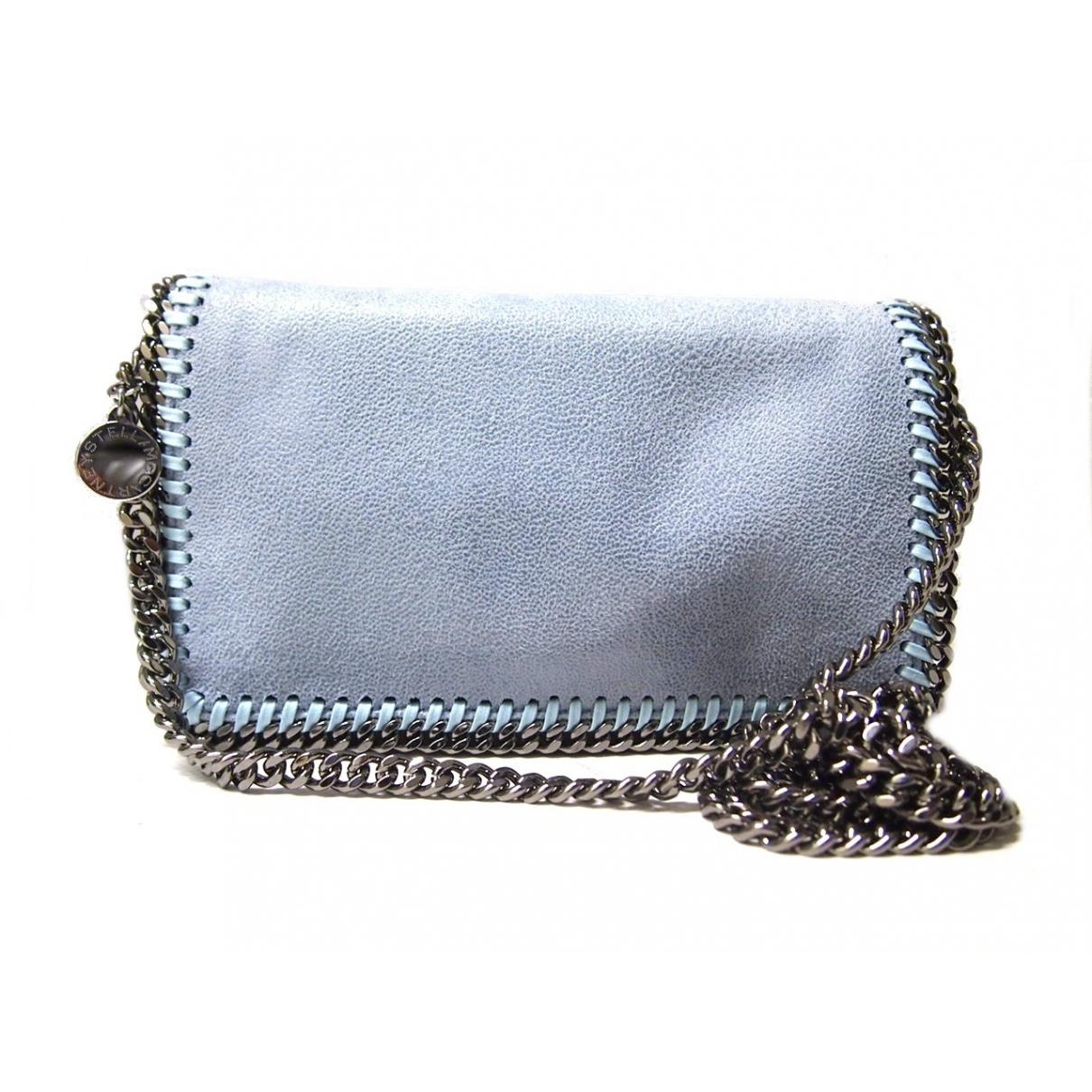 Bolsos clutch Falabella en Sintetico Azul Stella Mccartney