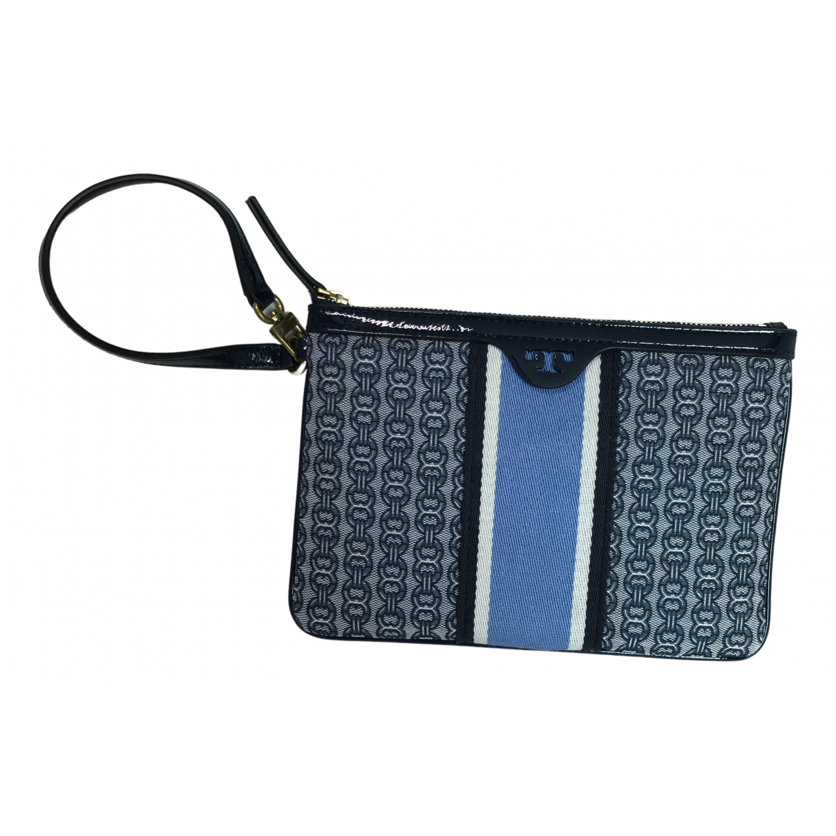 Tory Burch \N Clutch in  Marine Denim - Jeans