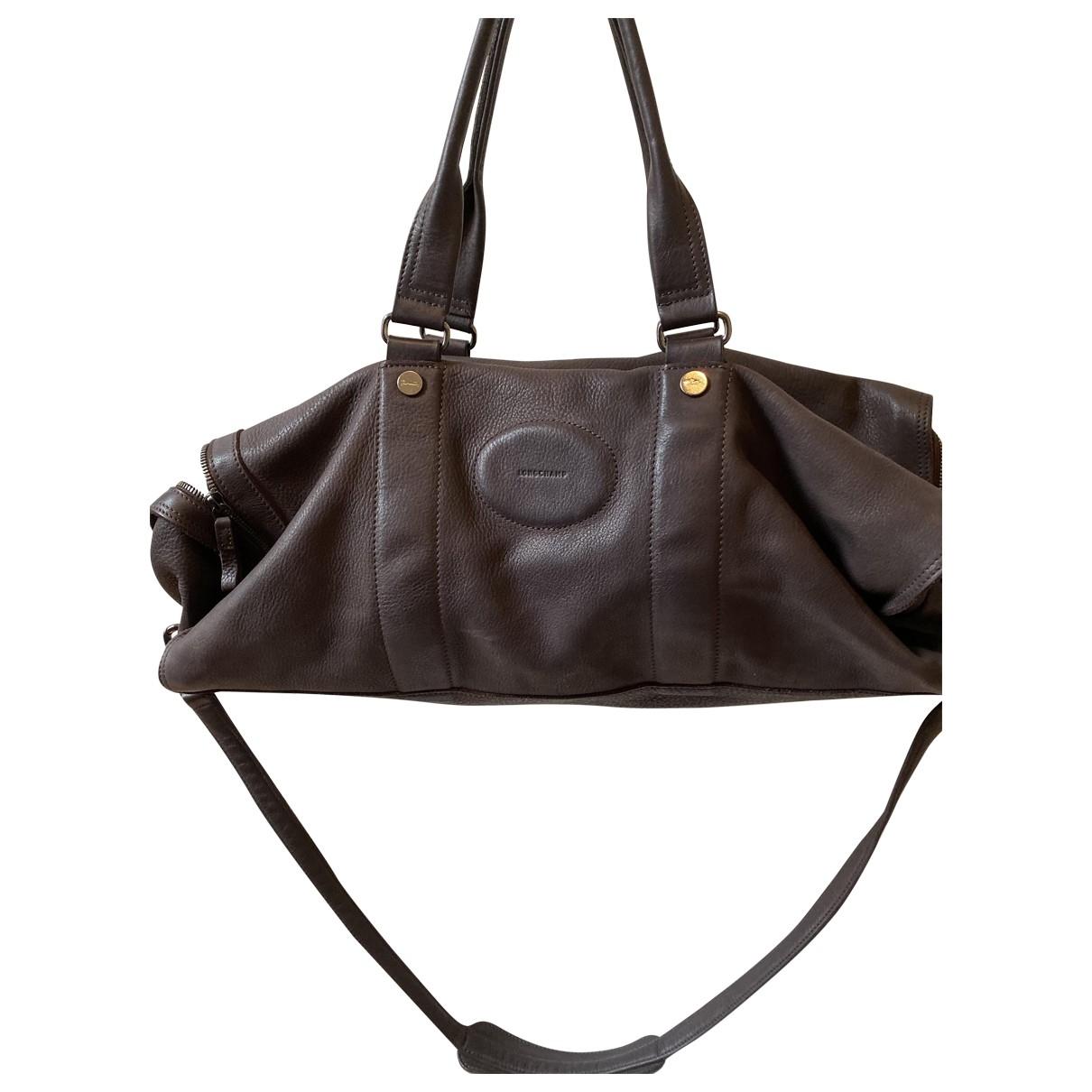 Longchamp \N Reisen in  Braun Kunststoff