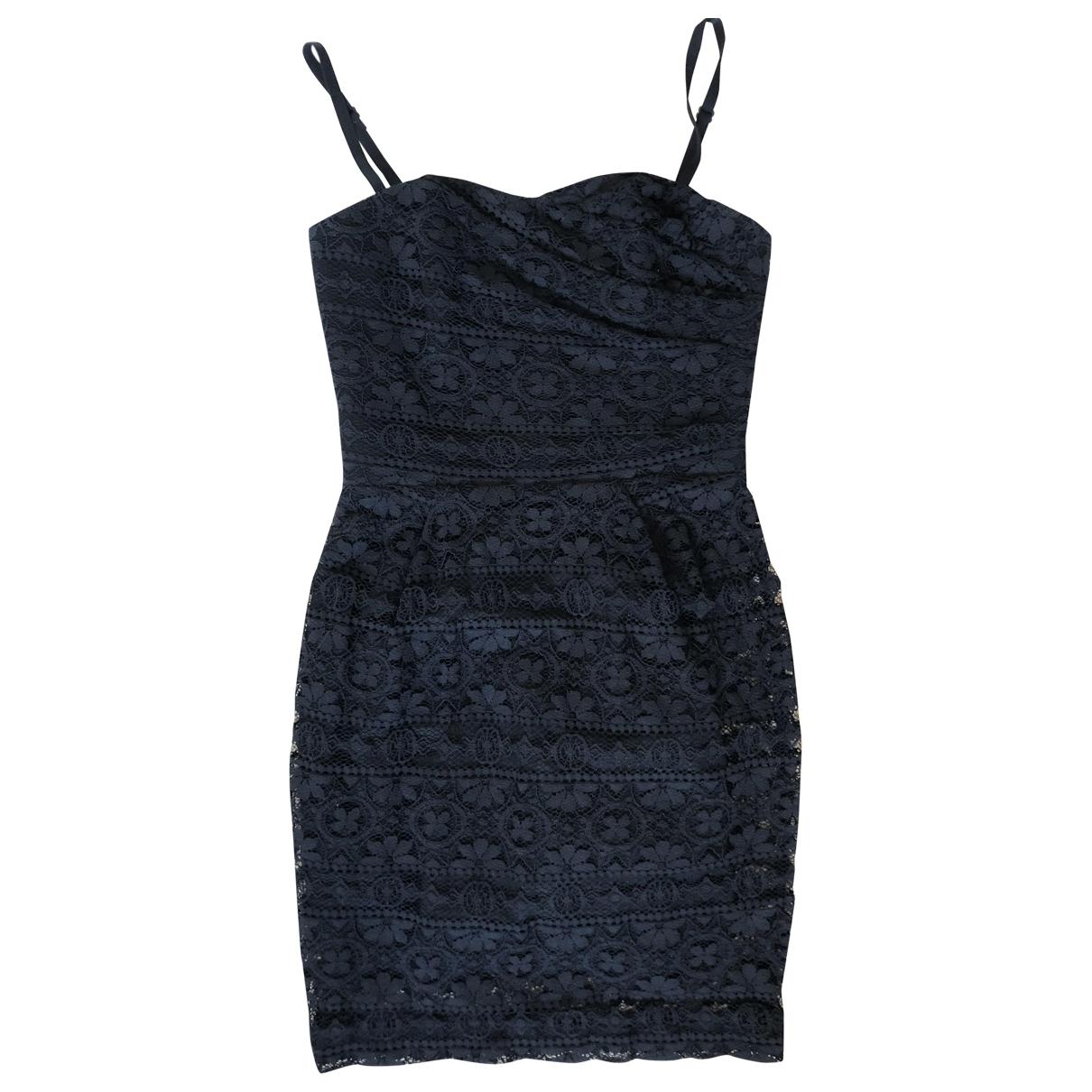 Sandro \N Black Lace dress for Women 36 FR