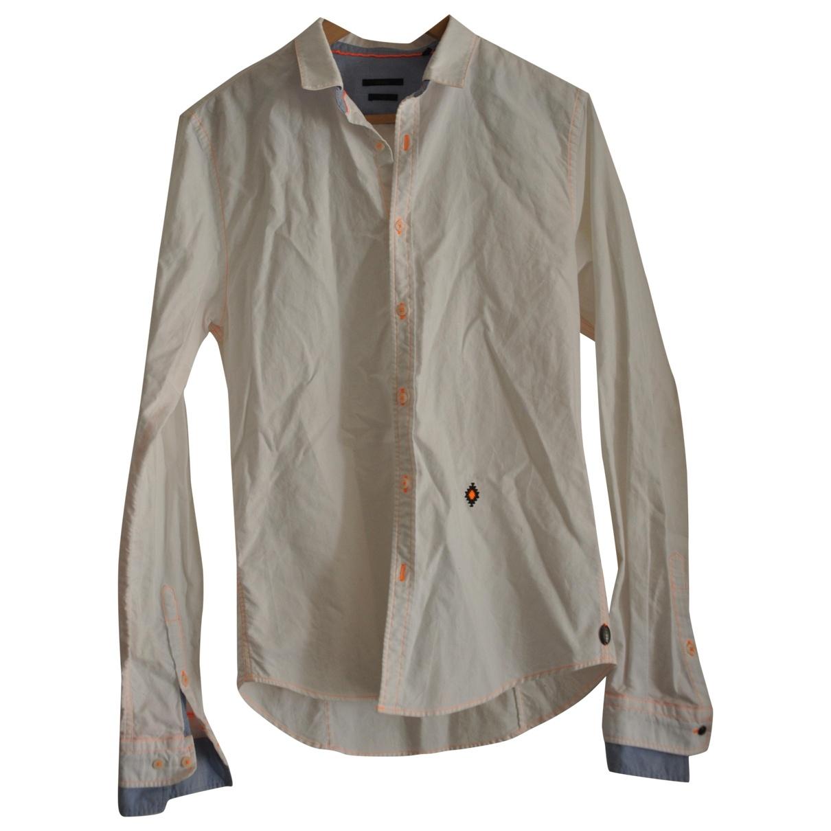 Ikks - Chemises   pour homme en coton - blanc