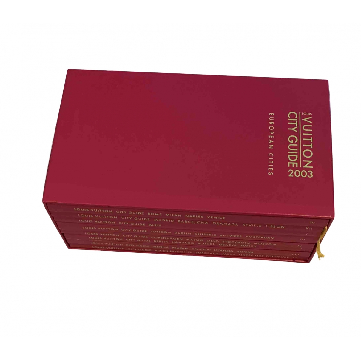 Louis Vuitton City Guide Reisen Rot