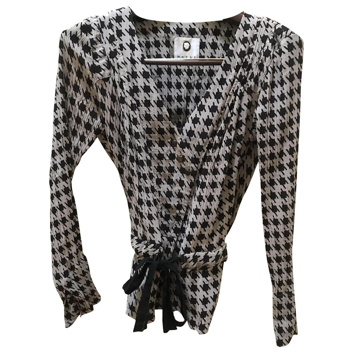 Mayle \N Beige Silk  top for Women 2 US