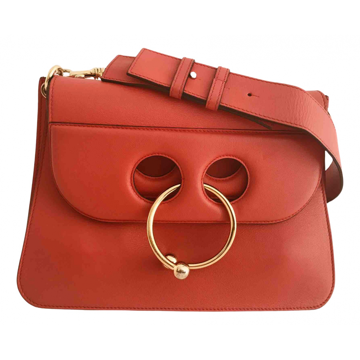 J.w. Anderson Pierce Red Leather handbag for Women \N