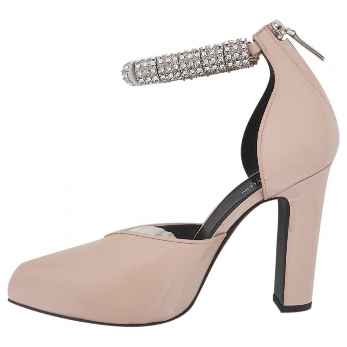 Calvin Klein 205w39nyc - Escarpins   pour femme en cuir verni - rose