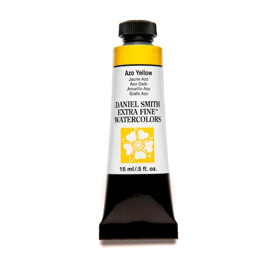 Daniel Smith Extra Fine™ Watercolor, 15 ml Paint in Azo Yellow | Michaels®