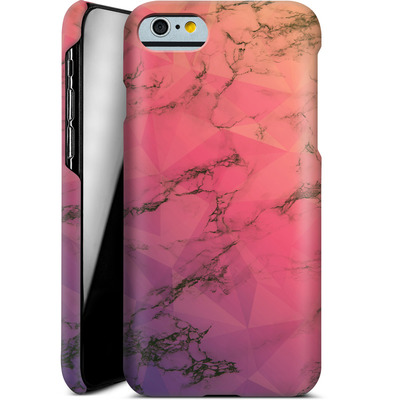 Apple iPhone 6s Smartphone Huelle - Marbled Triangles von Joel Perroden