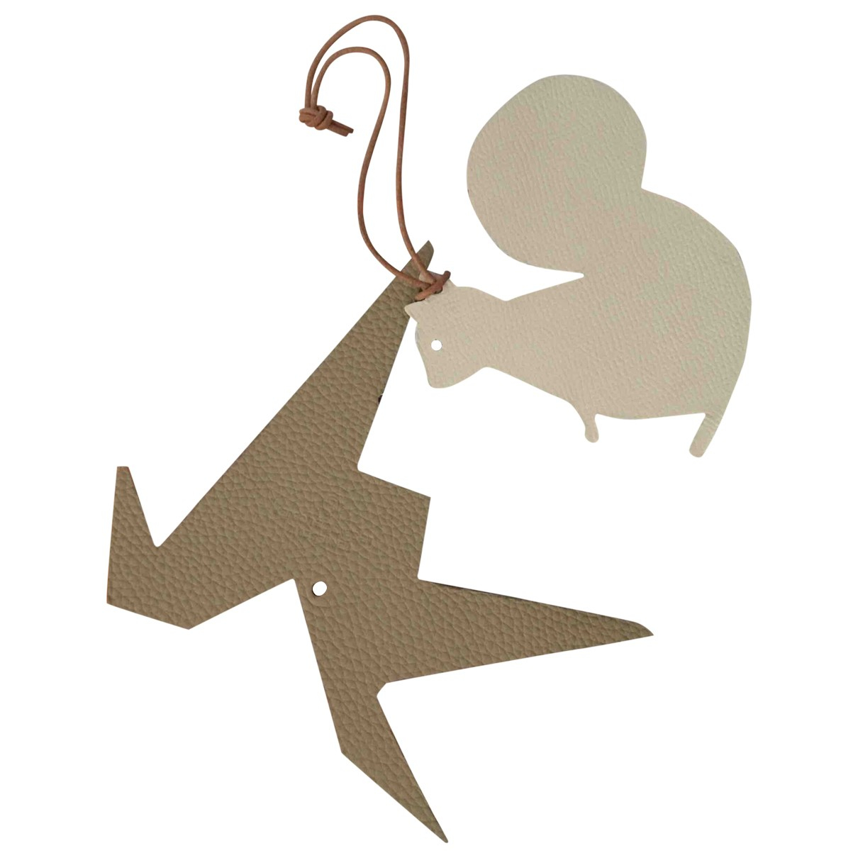 Hermes - Petite maroquinerie   pour femme en cuir - beige