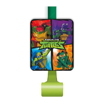 Rise of the TMNT Blowouts, 8ct For Birthday Party