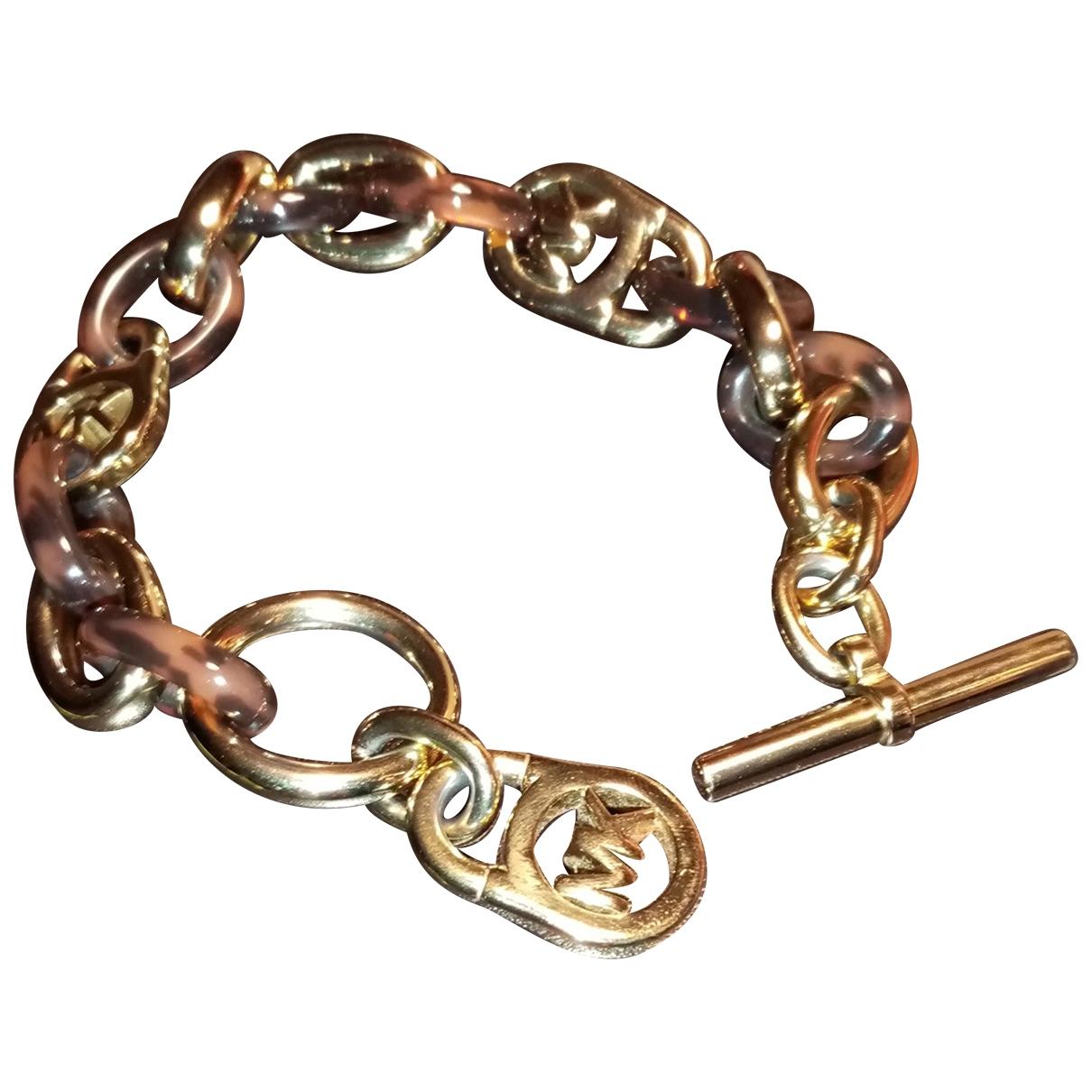Michael Kors - Bracelet   pour femme en chaine - marron