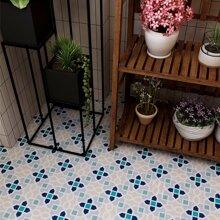 10 Stuecke Aufkleber mit geometrischem Muster