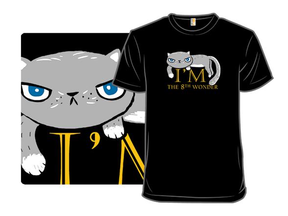 A Modest Cat T Shirt