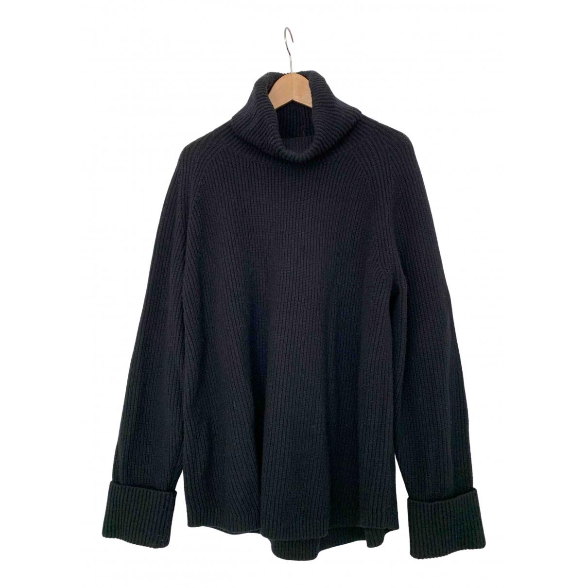 Arket - Pull   pour femme en laine - noir