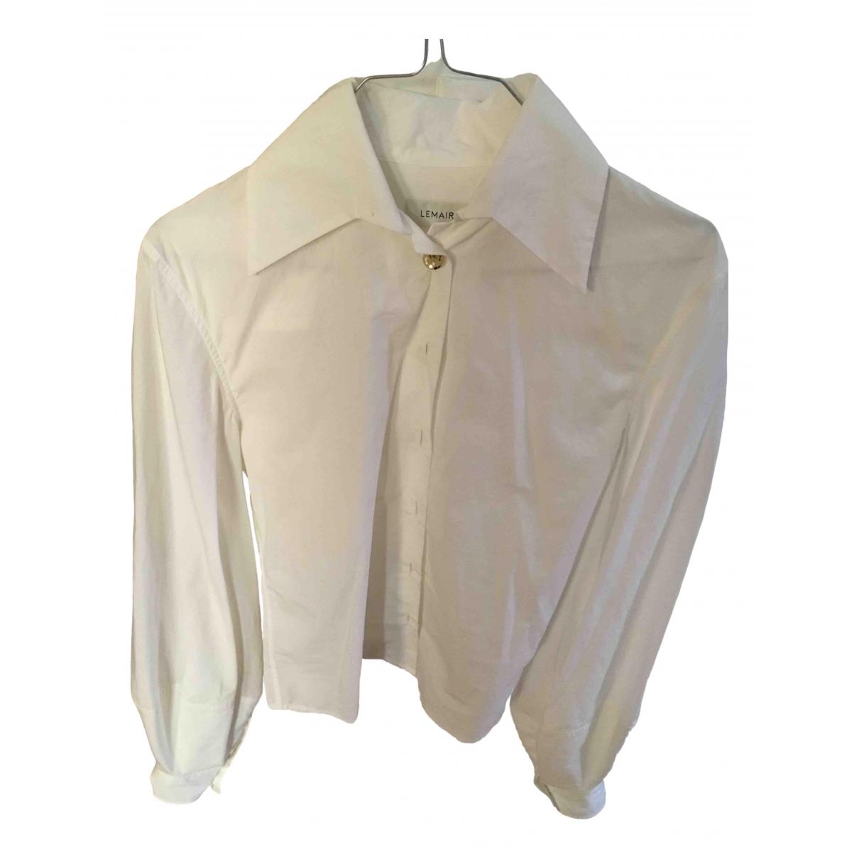Lemaire - Top   pour femme en coton - blanc