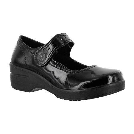Easy Works By Easy Street Womens Letsee Mary Jane Shoes, 9 1/2 Medium, Black