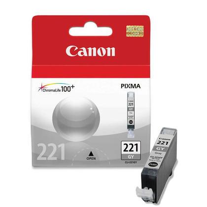 Canon CLI-221GY Original Gray Ink Cartridge