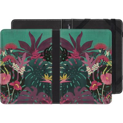 Pocketbook Touch Lux eBook Reader Huelle - Tropical Tendencies von Little Clyde