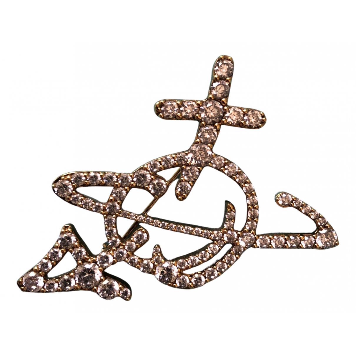 Vivienne Westwood \N Brosche in  Gold Metall