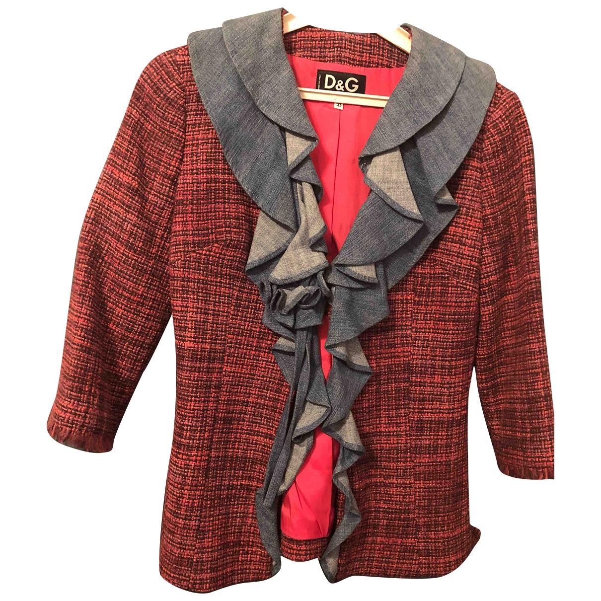D&g - Veste   pour femme en tweed - violet