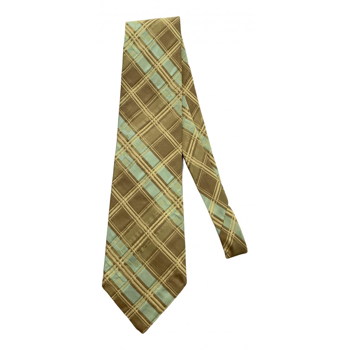 Romeo Gigli - Cravates   pour homme en soie - jaune