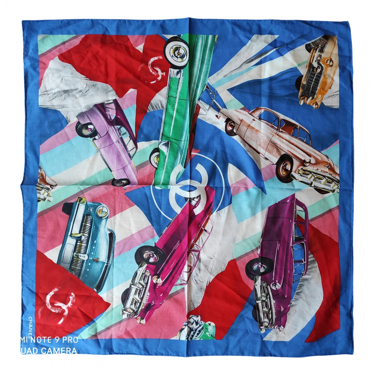 Chanel N Blue Cotton scarf for Women N