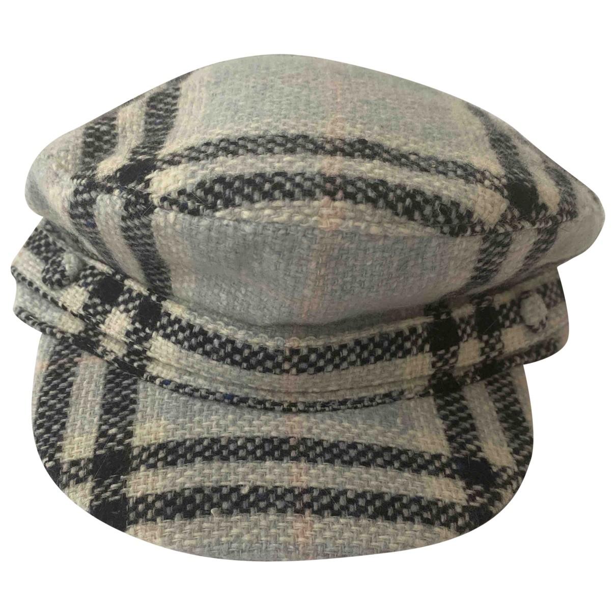 Burberry N Blue Wool hat for Women M International
