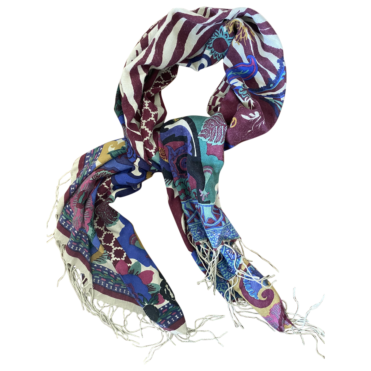 Etro \N Multicolour Cashmere scarf for Women \N