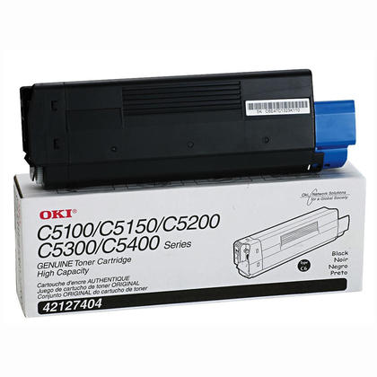 Okidata 42127404 Original Black Toner Cartridge