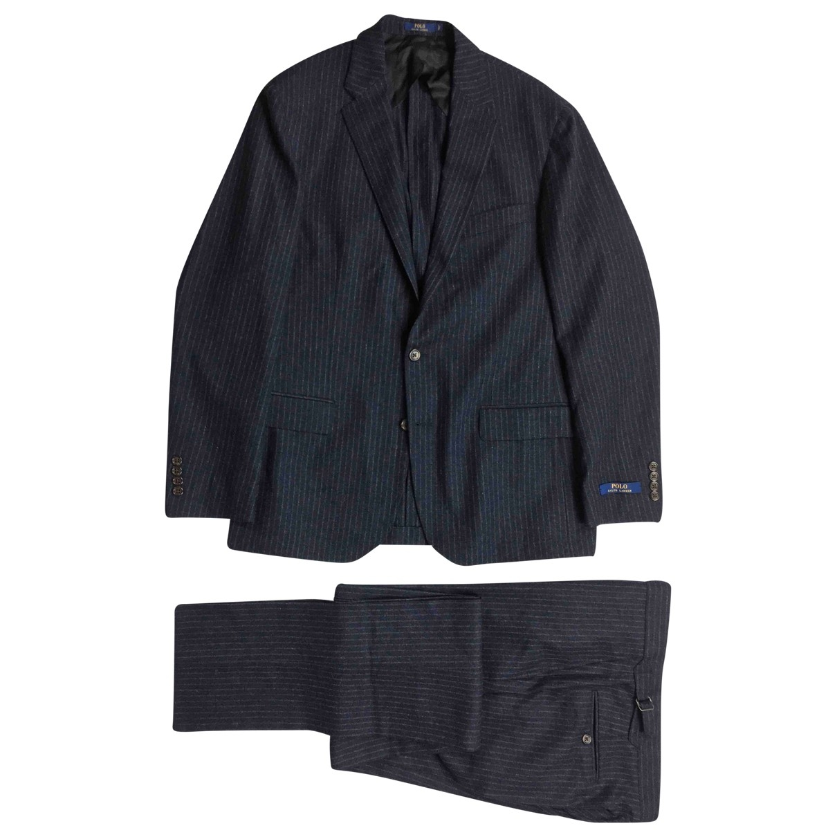 Polo Ralph Lauren \N Anzuege in  Blau Wolle