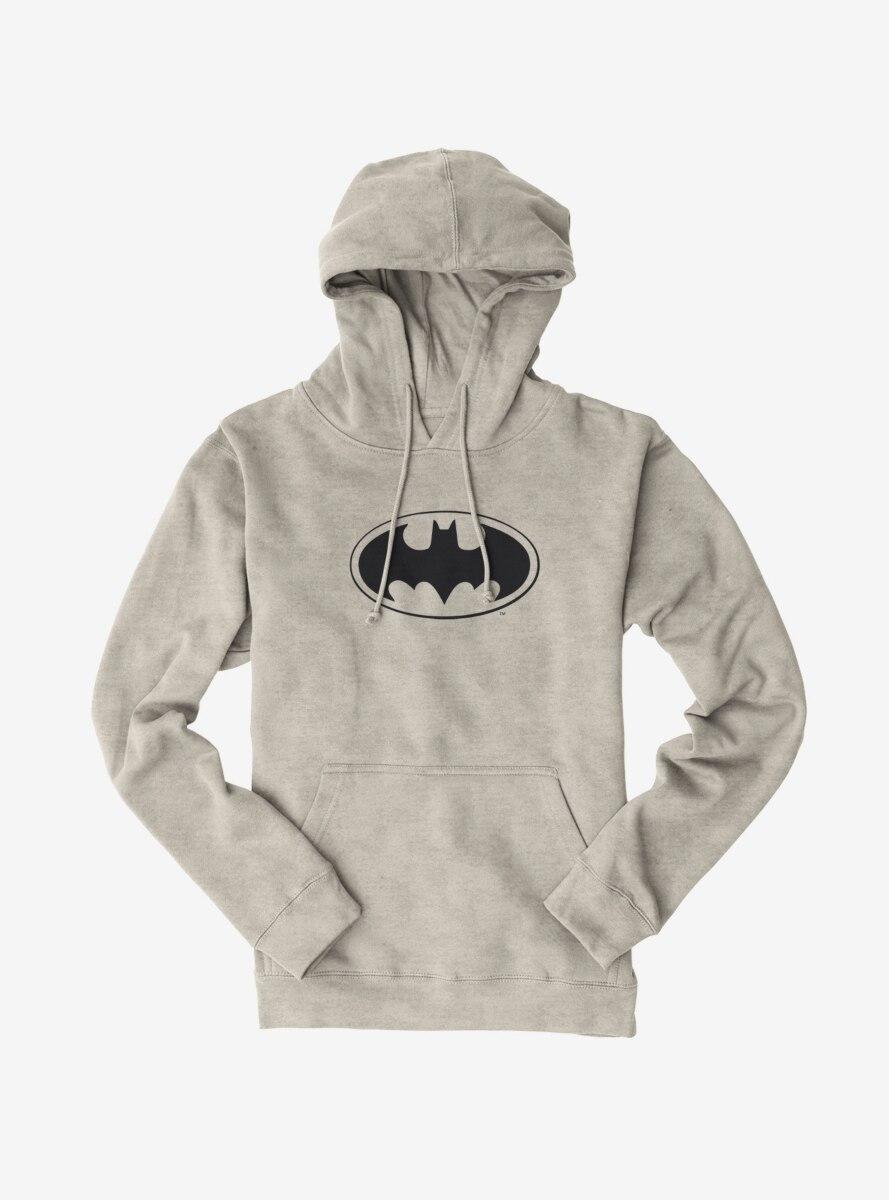 DC Comics Batman Classic Oval Logo Hoodie