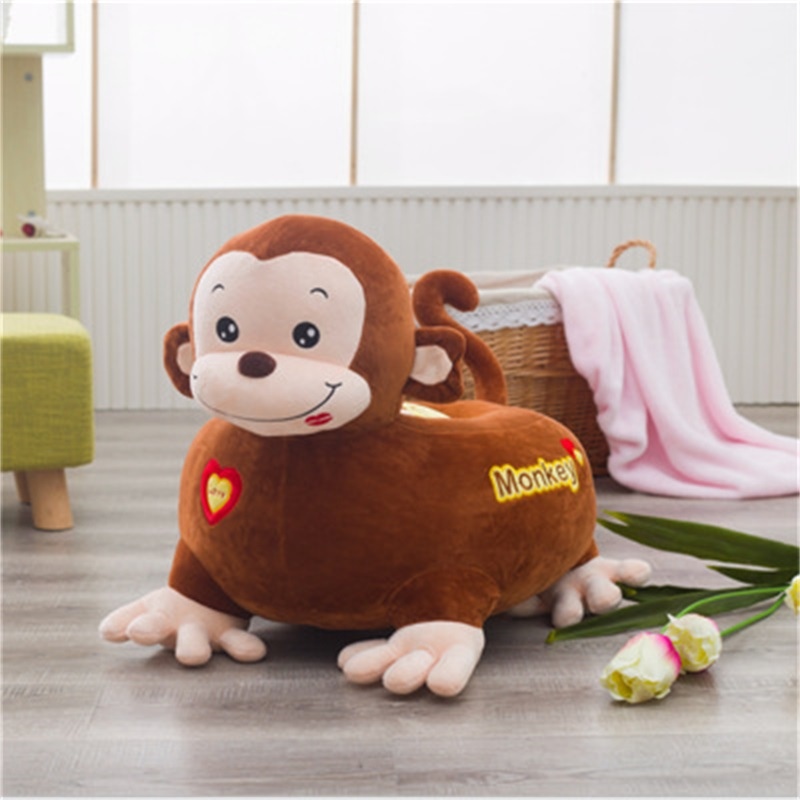 Cartoon Funny Animals Shape Plush Kids Sofa /Cushion