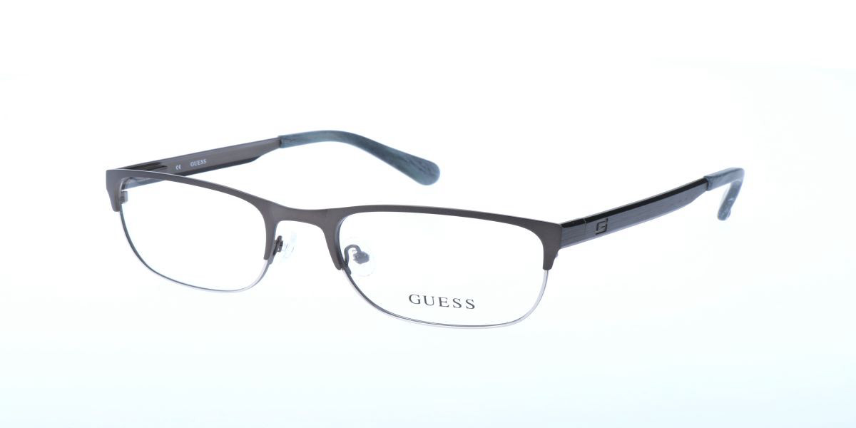 Guess GU 1841 J14 Men's Glasses Grey Size 53 - Free Lenses - HSA/FSA Insurance - Blue Light Block Available