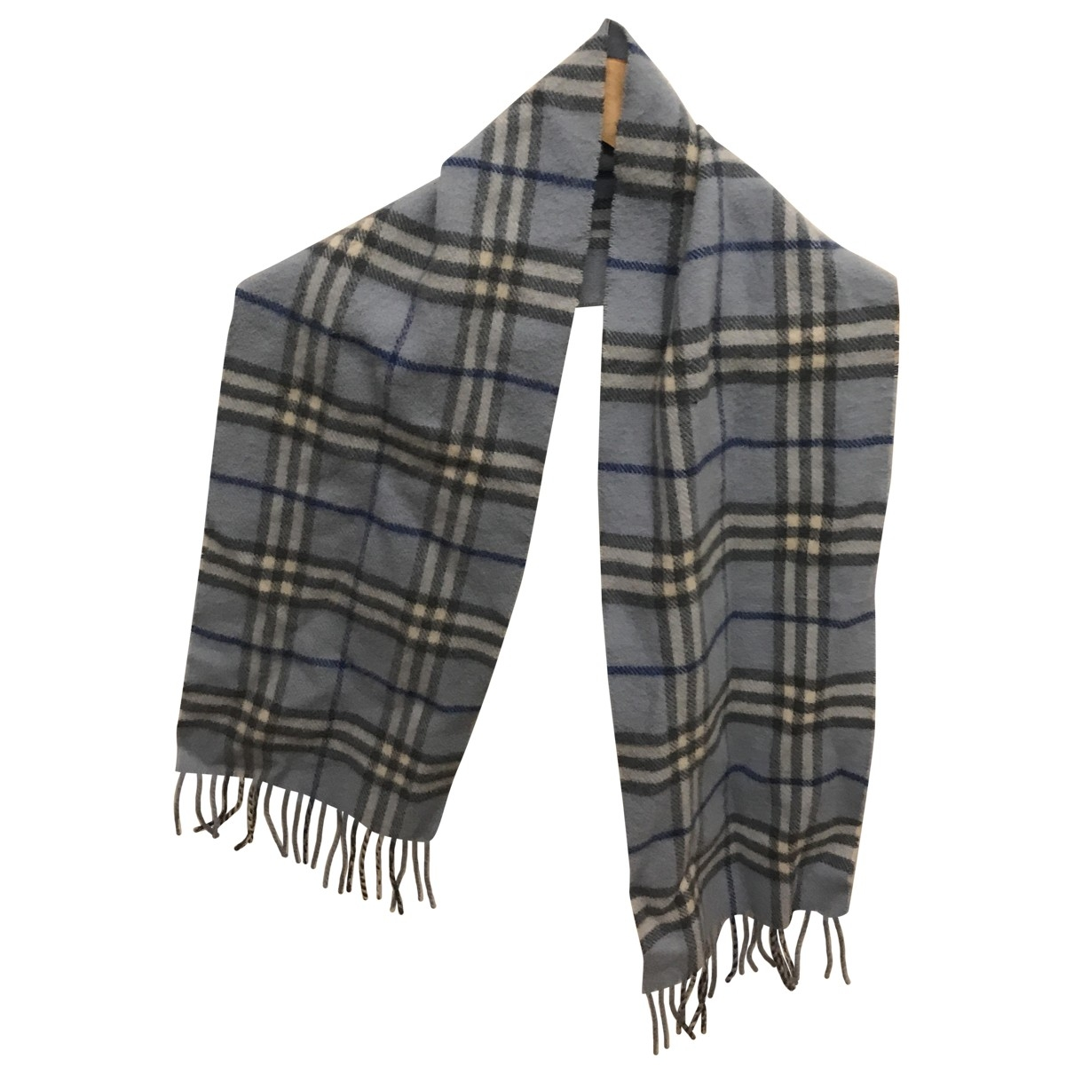 Burberry \N Turquoise Wool scarf for Women \N