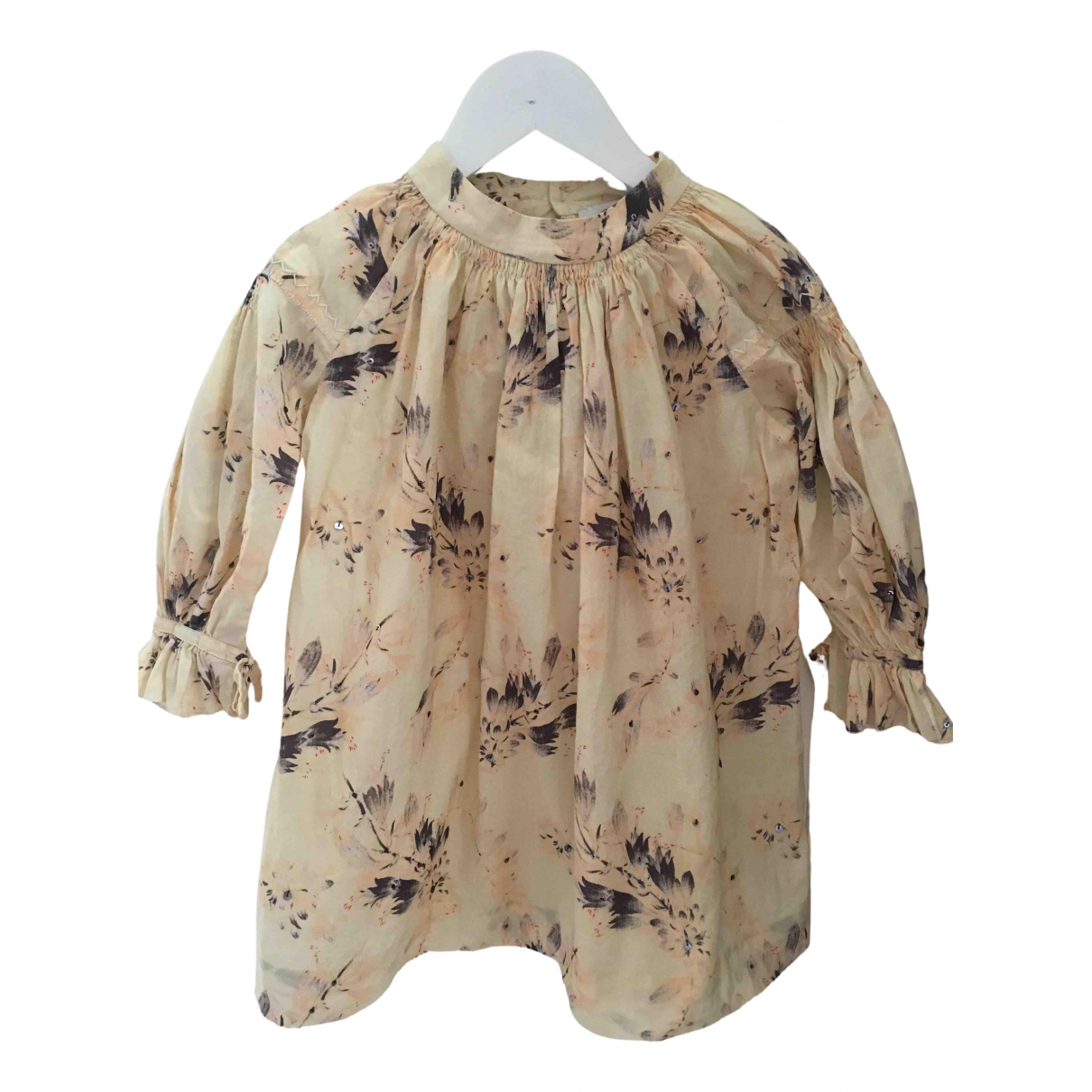 Bonpoint \N Kleid in  Beige Baumwolle
