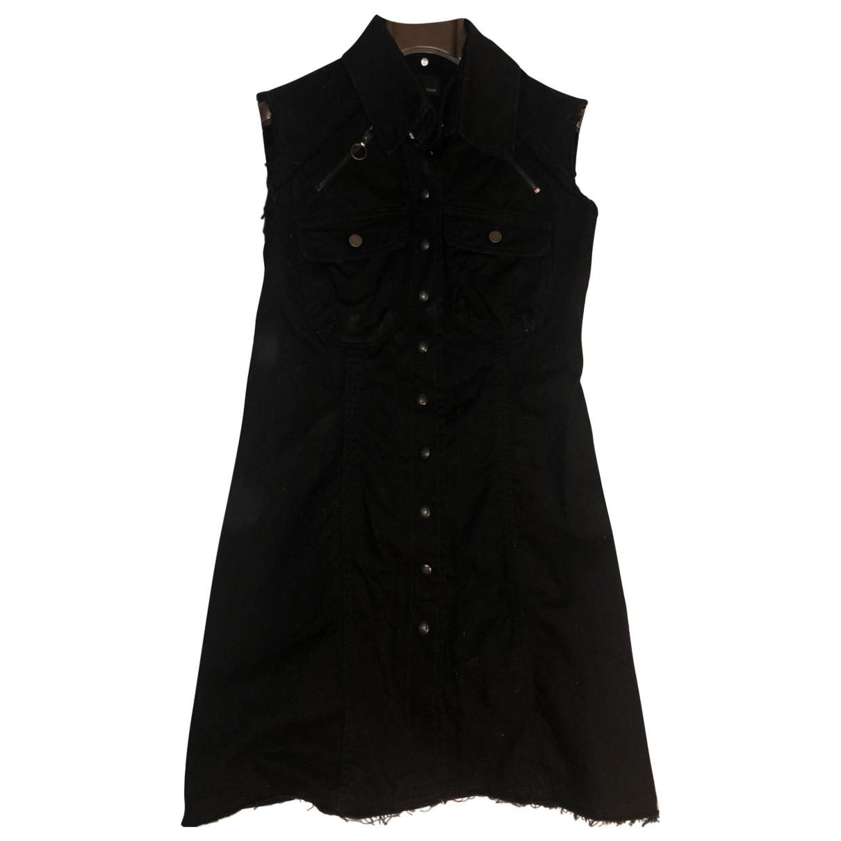Fendi \N Kleid in  Schwarz Denim - Jeans