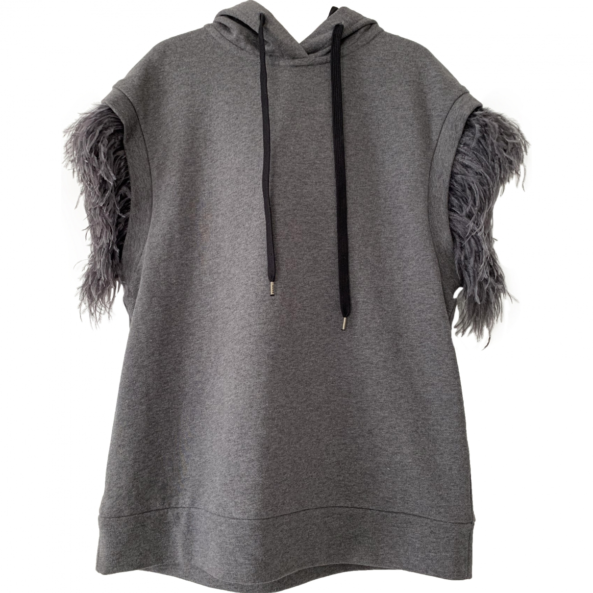 N°21 \N Grey Cotton Knitwear for Women 38 IT