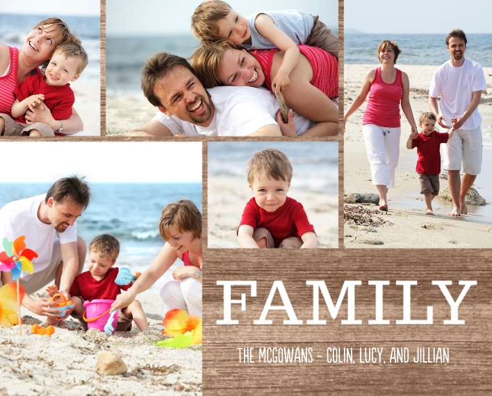 Family 8x10 Wood Panel, Home Décor -Family Moments