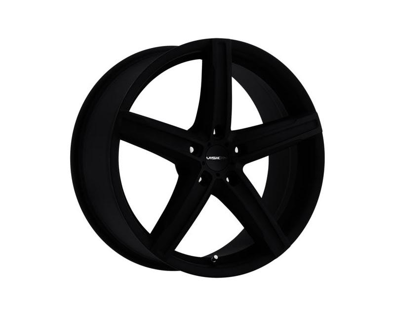 Vision Wheels 469-7790SB38 Boost Wheel 17x7 5x1150 38 BKMTXX Satin Black