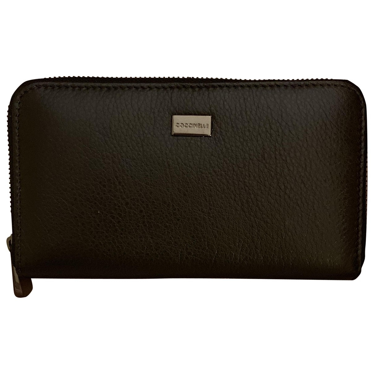 Coccinelle \N Black Leather wallet for Women \N