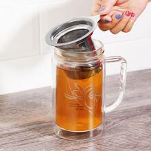 1pc Stainless Steel Tea Strainer