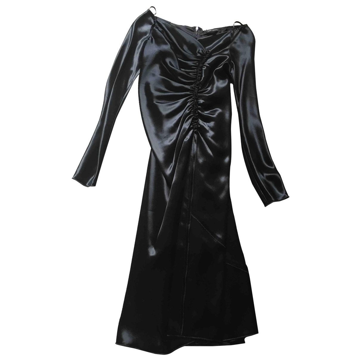 Marc Jacobs \N Black Silk dress for Women 4 0-5